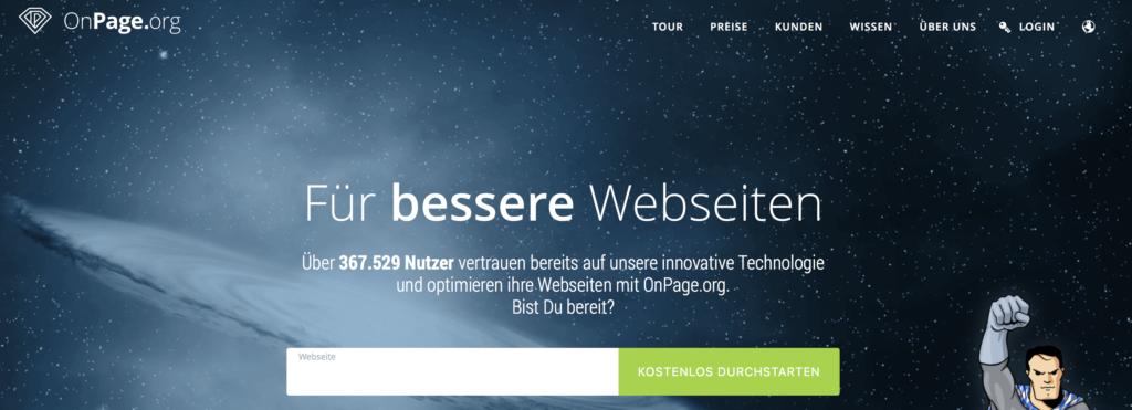 Bonpage.org screenshot