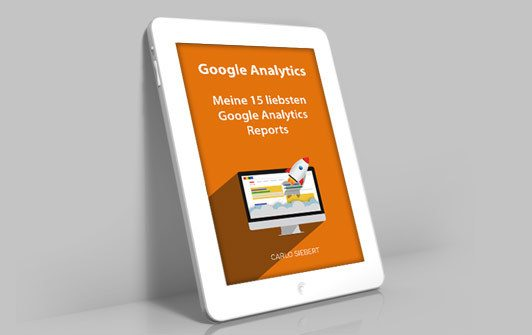 Tablet mit E-Book Analytics