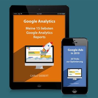 E-Book-Cover auf Tablet und Handy