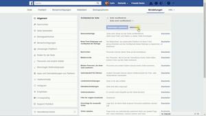 Die Einstellungen für Deine Facebook Seite sind sehr komplex und stellen ein weites Spektrum an Möglichkeiten dar.