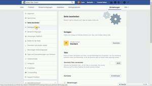 Facebook bietet Dir die Möglichkeit eine Vorlage anzuwählen.