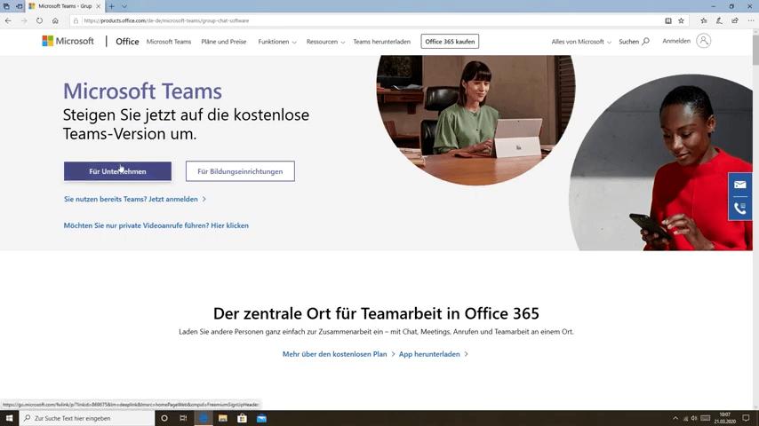 Microsoft Teams, Meeting Tool