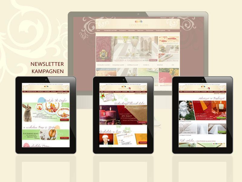 Layout Newsletterkampagnen
